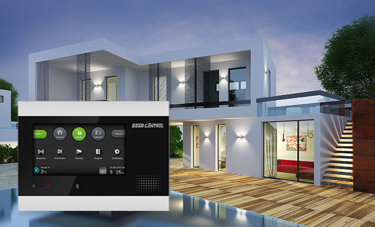 Smart Home Gebäude